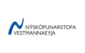 Lógó merki fyrir Nýsköpunarstofu Vestmannaeyja │Kría hönnunarstofa