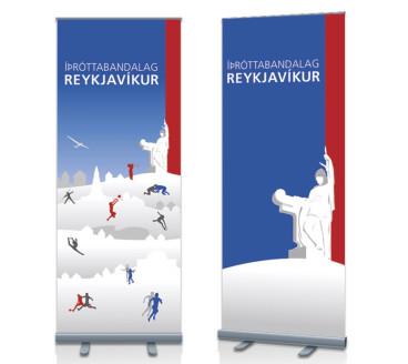 Gardínur fyrir Íþróttabandalag Reykjavíkur